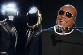 Daft Punk compartirá escenario con Stevie Wonder en los Grammy