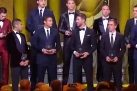 Balón de Oro 2013: FIFA eligió a los once mejores jugadores del 2013