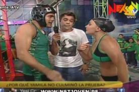 Combate: Yamila Piñero explota y discute con Ernesto en vivo - Video