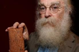 Antigua tableta de barro revela la verdadera forma de Arca de Noé - FOTO