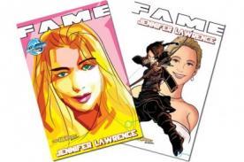 Estados Unidos: Jennifer Lawrence es dibujada para un cómic