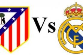 Copa del Rey: Atlético de Madrid vs Real  Madrid en vivo por DirecTV