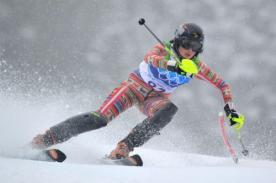 Sochi 2014: Ornella Oettl preparándose para su debut en los juegos olímpicos