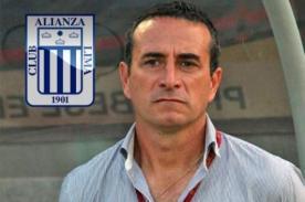 Alianza Lima: Guillermo Sanguinetti tiene el corazón blanquiazul