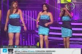 Yo Soy: Corazón Serrano arma la fiesta con 'Tu ausencia' - Video