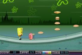 Friv: Juega con Bob Esponja en este divertido juego friv 'Hungry Spongebob'