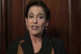 Susana Villarán: Soy católica y estoy a favor de la Unión Civil - VIDEO
