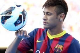 Mundial Brasil 2014: Neymar inició trabajos de recuperación