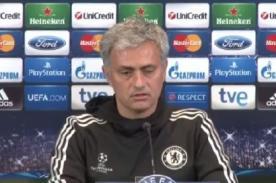 Champions League: José Mourinho sorprendió a los periodistas españoles - VIDEO