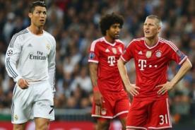 VIDEO: Dante y la brutal falta a Cristiano Ronaldo - Champions League