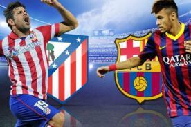 Barcelona vs Atletico de Madrid en vivo por ESPN - Final Liga BBVA