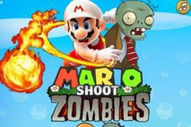 Friv: Alucinante juego online de Mario Bros vs. Zombies