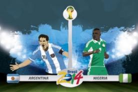 En Vivo: Nigeria vs Argentina por DirecTV - Mundial Brasil 2014