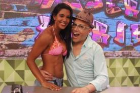 Rocío Miranda calentó la tarde en Mujeres Arriba con diminuto bikini [Fotos]