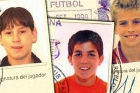 ¡No pueden ser ellos! Publican fotos de la niñez de Messi, CR7 y otros futbolistas