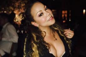 Mariah Carey muestra de más en sugerente vestido