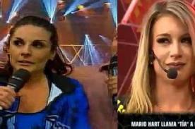 Esto Es Guerra: Mario Hart humilla a Leslie Shaw en vivo