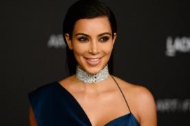 Kim Kardashian no deja nada a la imaginación con infartante polo [FOTOS]