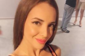Rosángela Espinoza es la reina del pole dance y esta foto lo comprueba - FOTO