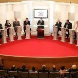 Debate Presidencial: Apagón sorprende a Ollanta Humala en plena intervención