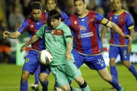 Goles del Levante vs Barcelona (1-2) - Liga Española - Video