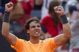 Rafael Nadal desplaza a Roger Federer del segundo lugar del ranking