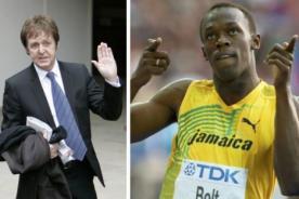 Olimpiadas 2012: Paul McCartney es hincha de Usain Bolt