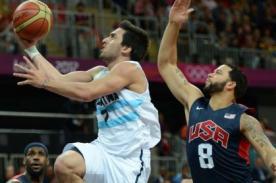 En vivo: Argentina vs Estados Unidos (83-109) - Olimpiadas Londres 2012
