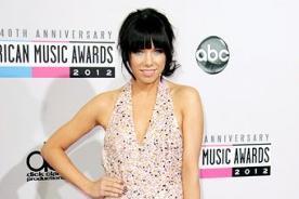 American Music Awards 2012: Carly Rae Jepsen gana como Artista Nuevo