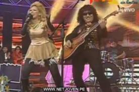 Yo Soy: Alex Lora y Gloria Trevi desbordaron energía en escenario - Video