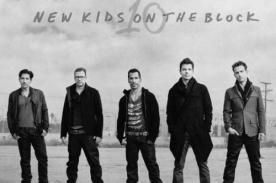 New Kids On The Block lanzará su nuevo disco '10' en un concierto