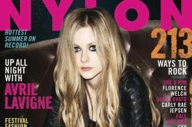 Avril Lavigne protagonizó sesión de fotos para la revista Nylon