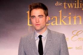 Robert Pattinson será imagen de nuevo perfume de Dior