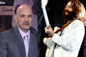 Yo Soy: John Lennon 'calló la boca' a Ricardo Morán - Video