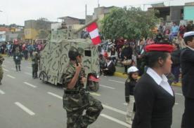 Parada Militar 2013 se adelantó en SJM con tanques-mototaxis