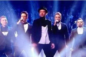 Justin Timberlake reúne a N'Sync en los MTV Video Music Awards (Video)