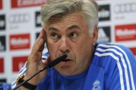 Carlo Ancelotti: Todo el mundo piensa que Barcelona es el favorito