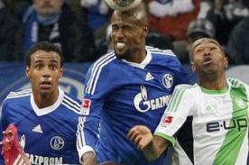 Bundesliga: Schalke 04 vence 2-1 a Wolfsburg con Jefferson Farfán