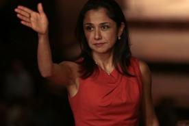 Nadine Heredia se pronuncia tras violencia en Venezuela