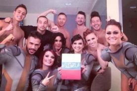 Venezuela: Bailarines de Britney Spears apoyaron el #SOSVenezuela - FOTO