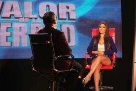 'El Valor de la Verdad' lideró en rating con confesiones de Milena Zárate