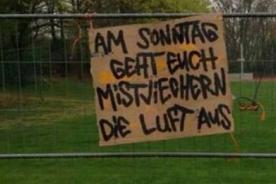 Eintracht Braunschweig: Hinchas matan oveja para asustar a su rival - FOTO