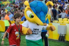 Brasil 2014: La mascota del mundial, Fuleco, ya está en Lima