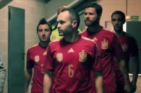 Brasil 2014: La selección de España se disfrazó de gente anónima - VIDEO