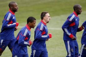 Mundial Brasil 2014: Franck Ribéry entre los 23 jugadores de Francia