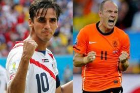 ¿Cuándo jugarán Holanda vs Costa Rica? (Hora peruana) - Mundial Brasil 2014