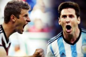 Alemania vs. Argentina en vivo por ATV: Final Mundial Brasil 2014