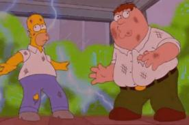 Lanzan adelanto de 5 minutos de Los Simpson con Family Guy [Video]