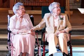 ¡Final feliz! Pareja lesbiana logra casarse finalmente a los 90 años de edad