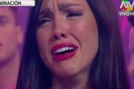¿Por qué Paloma Fiuza rompió en llanto durante Combate? [Video]